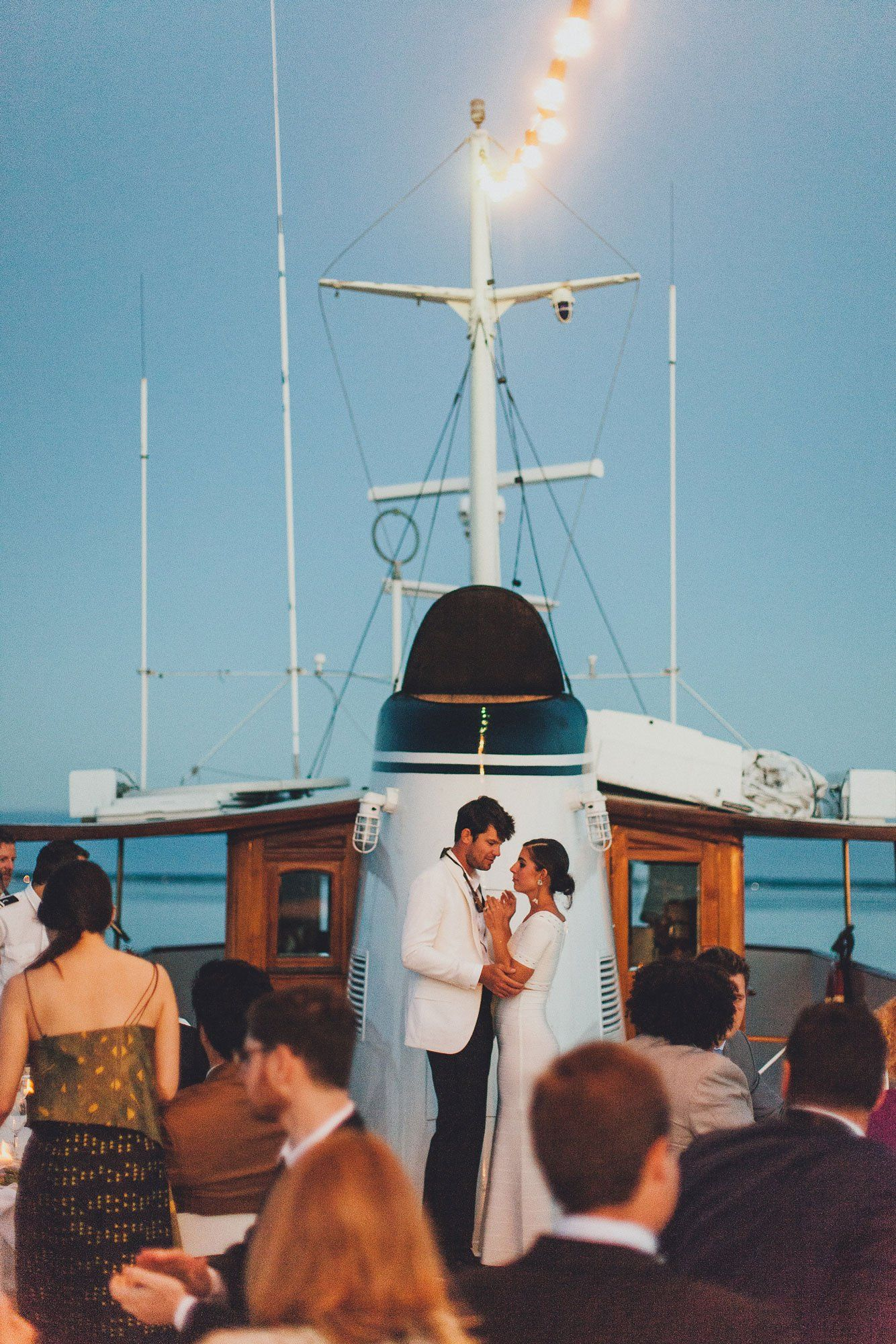 Author Jessica Soffer And Alex Fordens Intimate Wedding Cruise