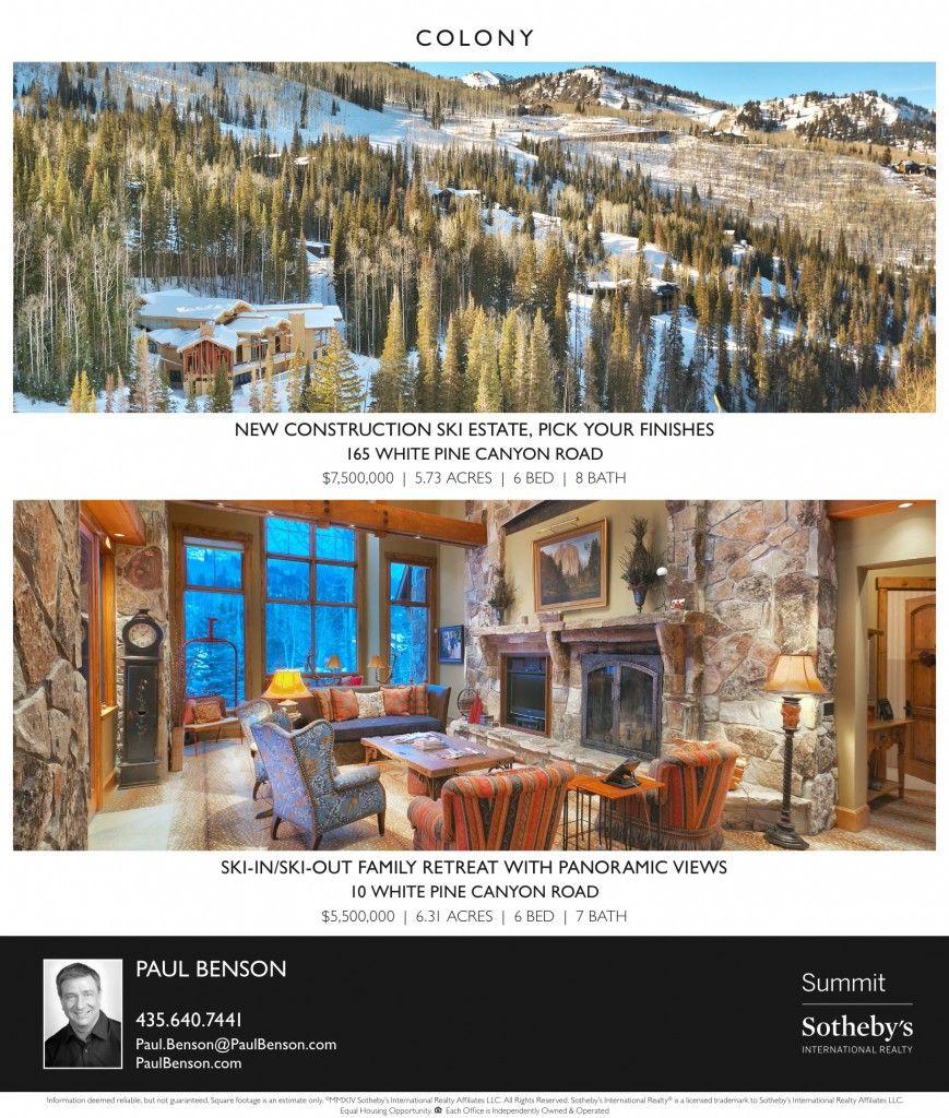 Luxury Homes For Sale Park City Utah Park City Utah Park City Luxury Homes