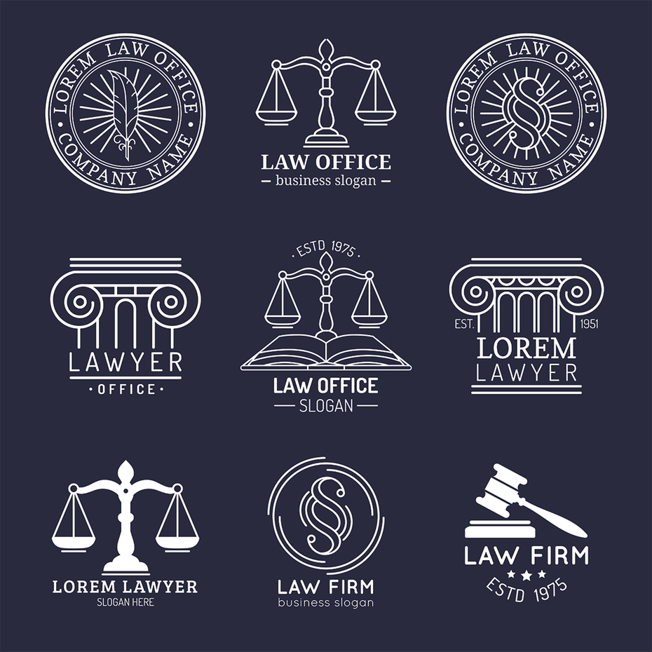 31 Law Firm Logos That Raise The Bar Law Firm Logo Raising And Logos