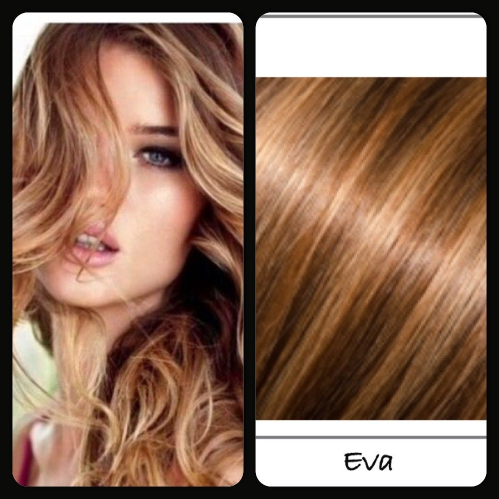 Babe Tape In Hair Extensions Color Eva Tape In Hair Extensions In