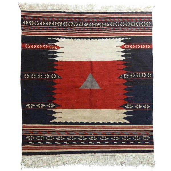 Persian Sofreh Kilim Wool Rug 3 2 X 3 2 400 Liked On