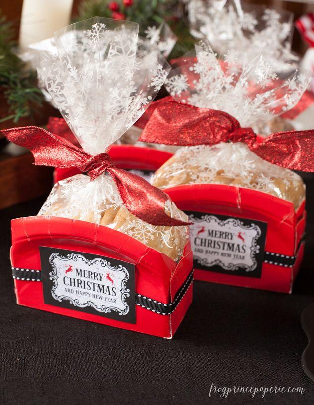 Cookie Exchange Packaging Ideas Frog Prince Paperie Cookie Exchange Packaging Cookie Gift Packaging Christmas Cookies Gift