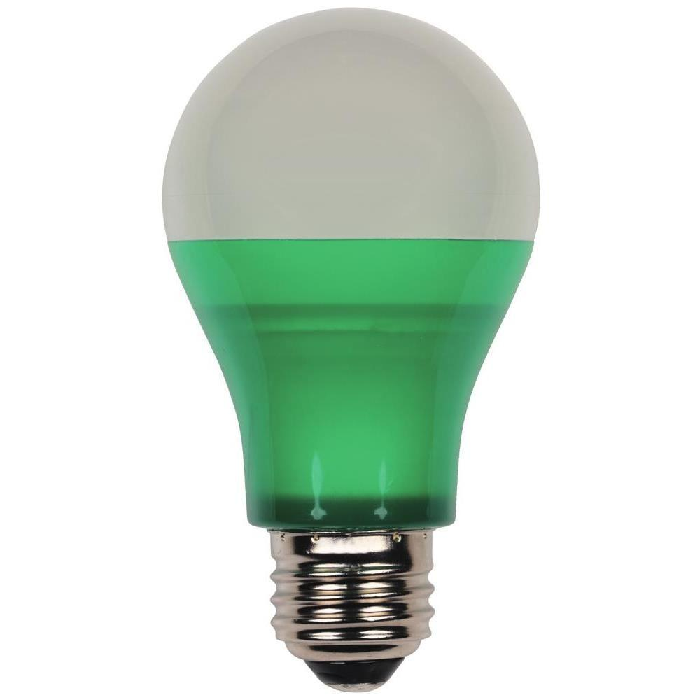 40 Watt Equivalent Green Omni A19 Led Party Light Bulb Led Party