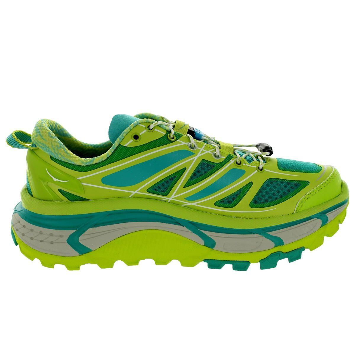 Hoka One One Women's W Mafate Speed Acid/Agua/Grey Running Shoe · Running  ShoesAthleticOutlet ...