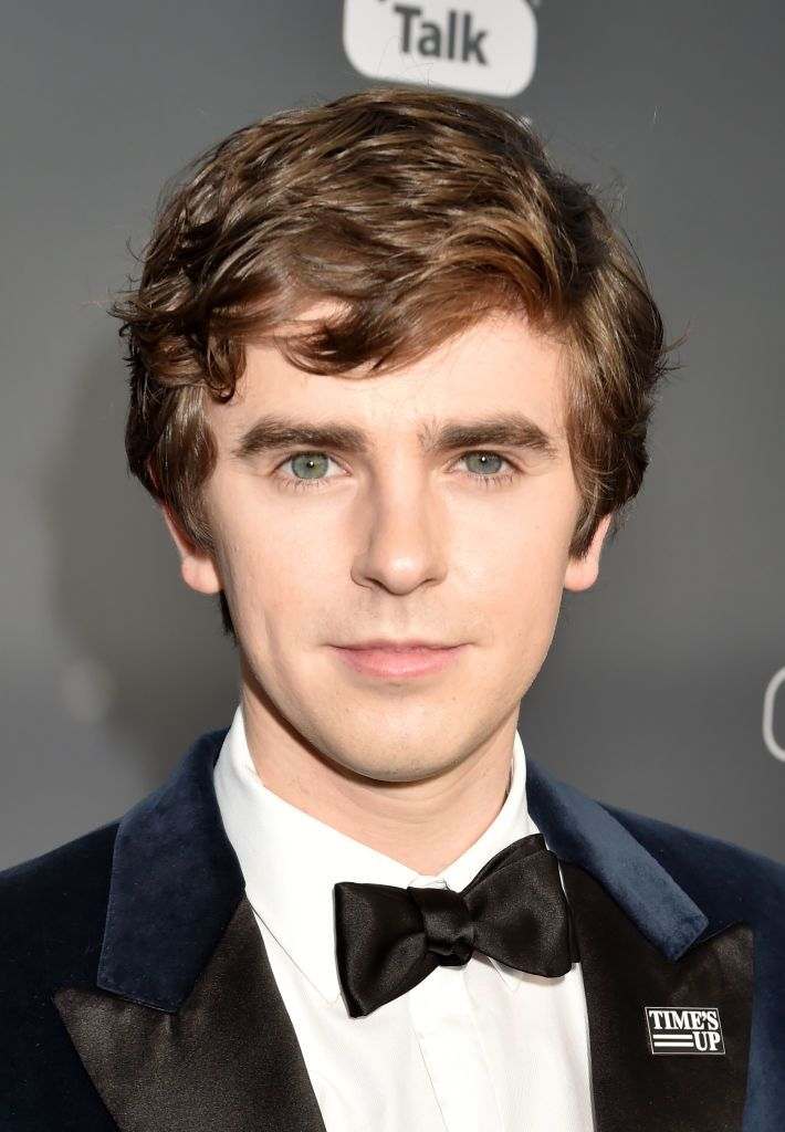 Freddie Highmore: SANTA MONICA, CA - JANUARY 11: Actor Freddie Highmore attends The 23rd Annual Critics' ...