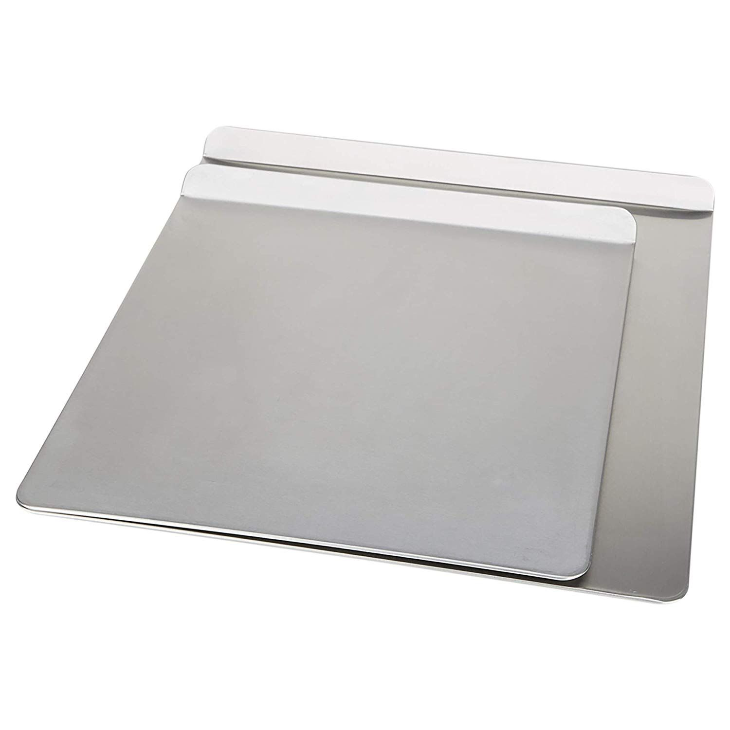 Airbake Natural Aluminum 2 Pack Insulated Cookie Sheet No Burn Design 14 X 12in And 16 X 14in You Can Find Out M Cookie Sheet Aluminum Sheets Bakeware Set