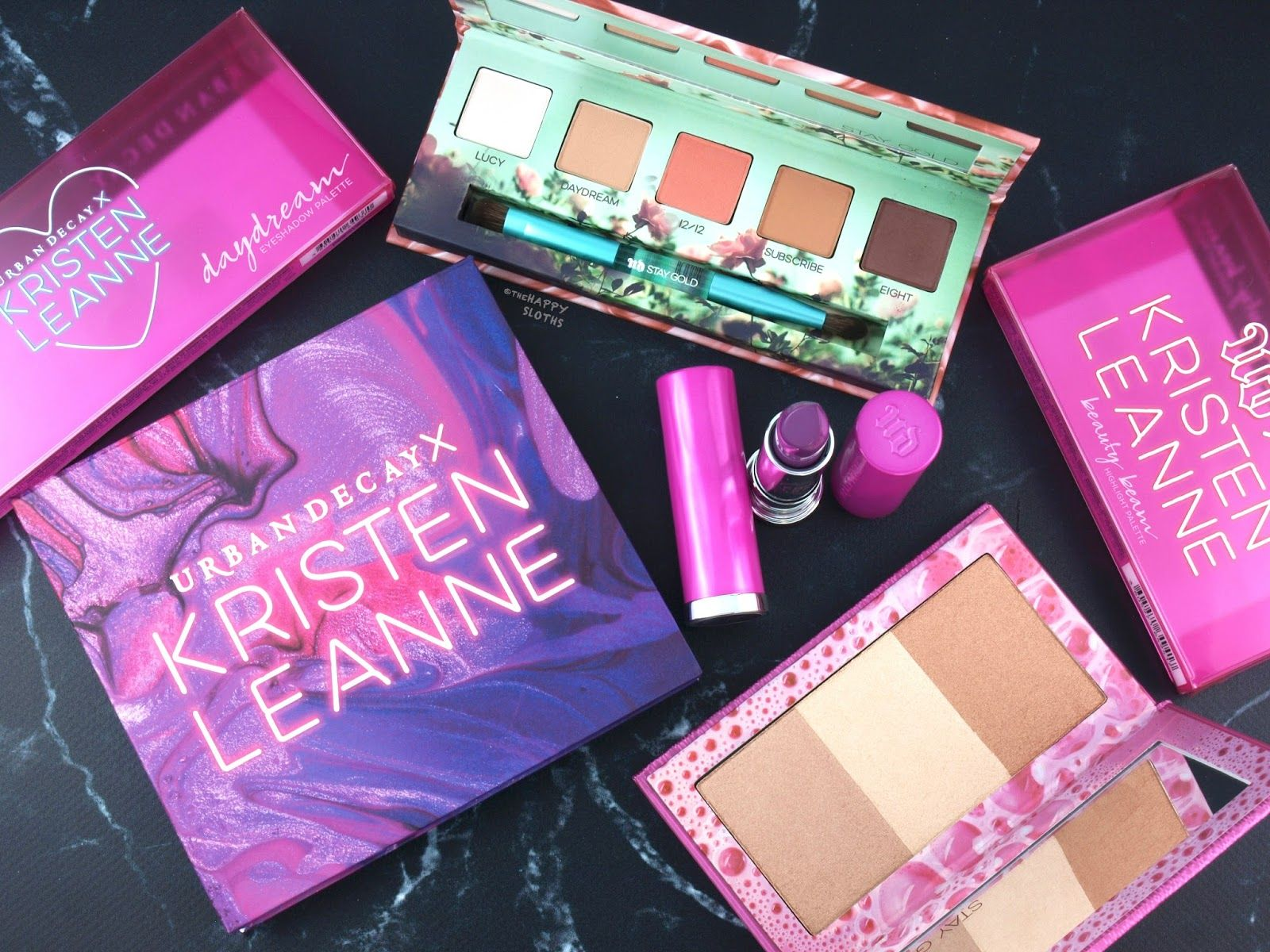 Urban Decay x Kristen Leanne Collection Review and