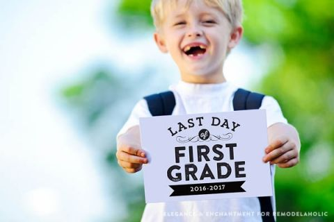 Free Printable Signs Sized 8 X 10 For The Last Day Of School From