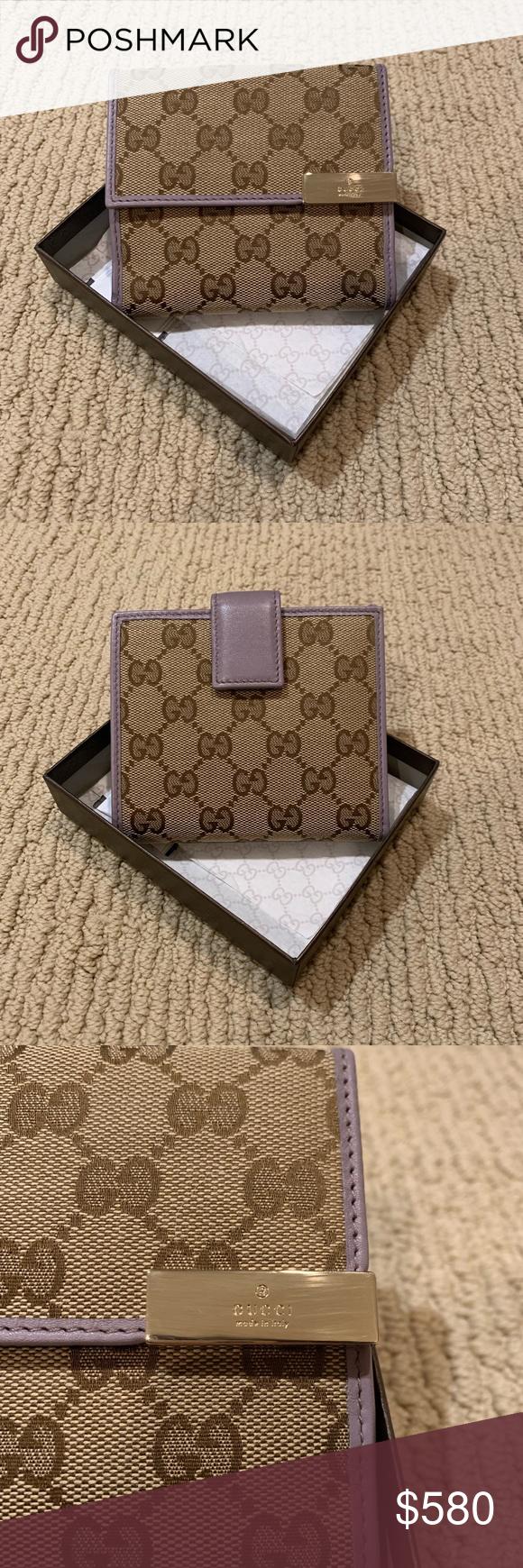 ae96a5cdd44d NWT Authentic Gucci Medium Bifold Wallet Very cute Gucci Medium ...