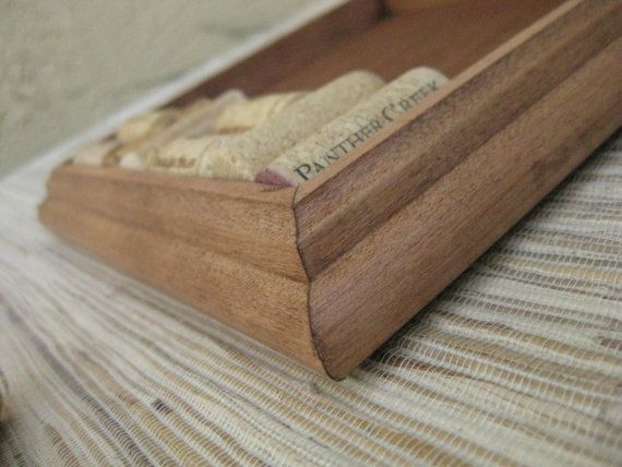 Wine Cork Trivet Kit  Reclaimed wood DIY CRAFT KIT by TheWoodenBee