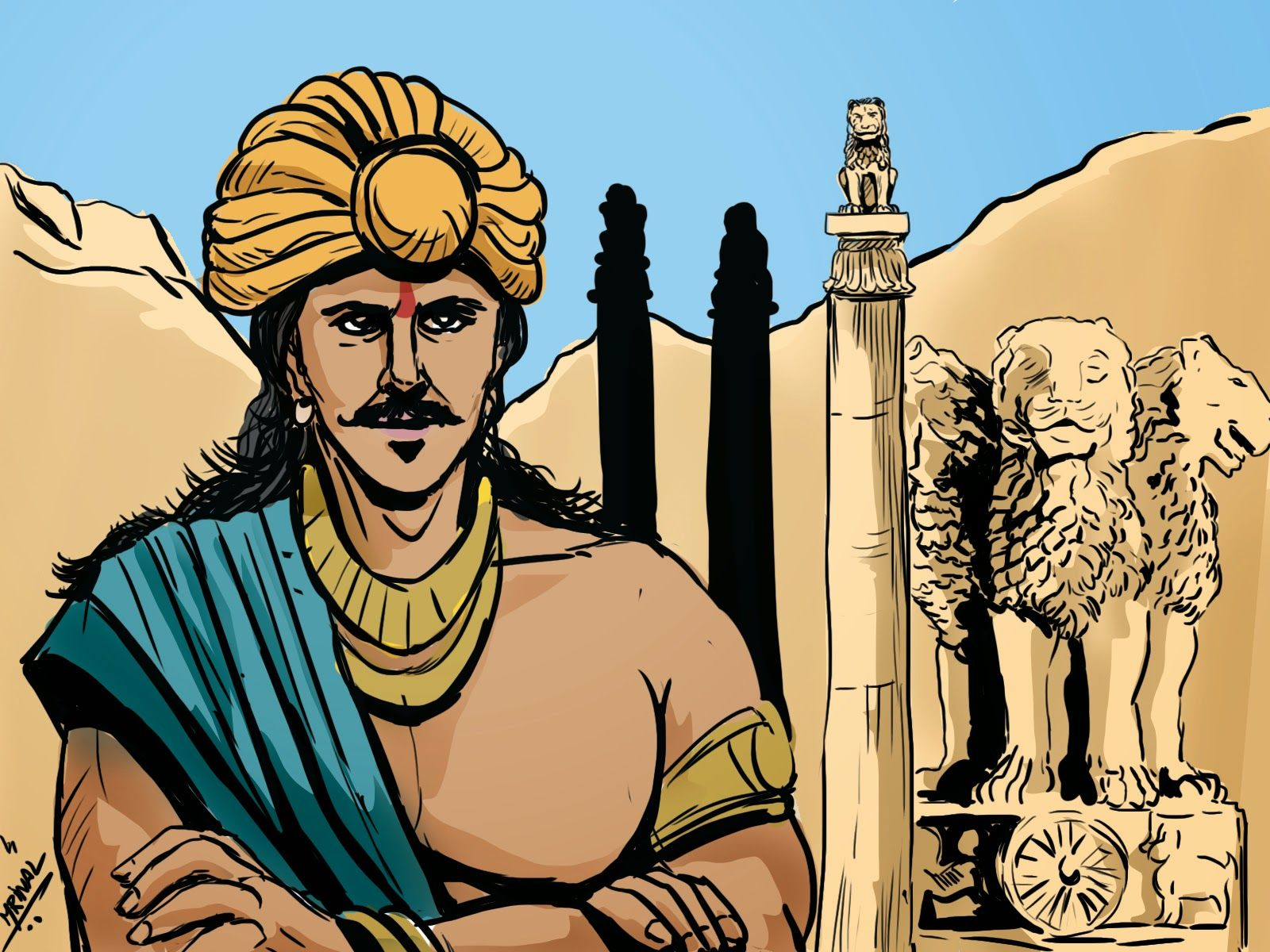Ashoka occupies a unique place in the history of world for Ashoka the great cuisine of india