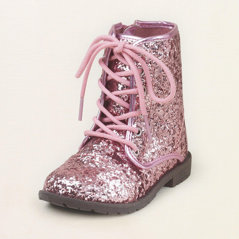 baby girl glitter boots