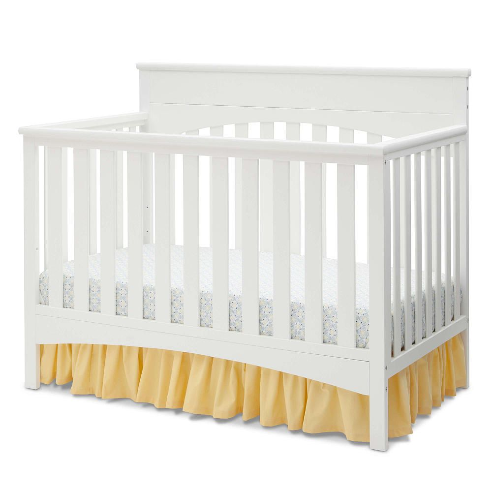 Delta Children Bennington Convertible 4 In 1 Crib White