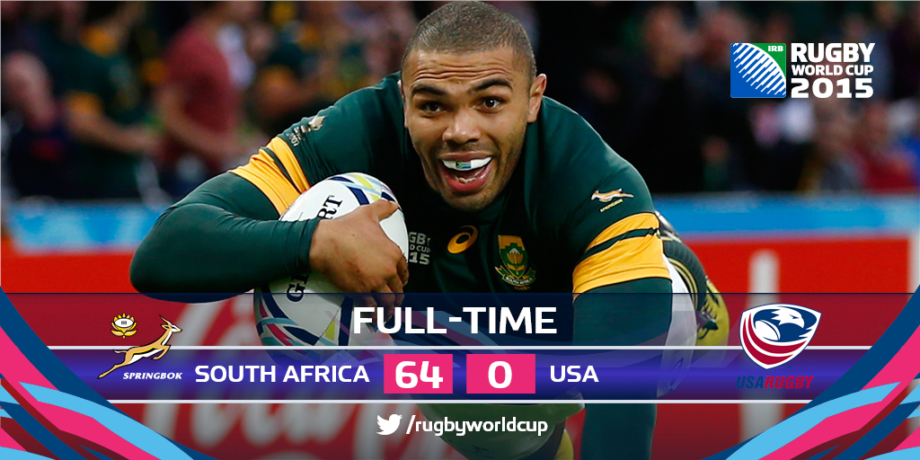 Rugby World Cup On Twitter Rugby World Cup Springbok South Africa World Cup