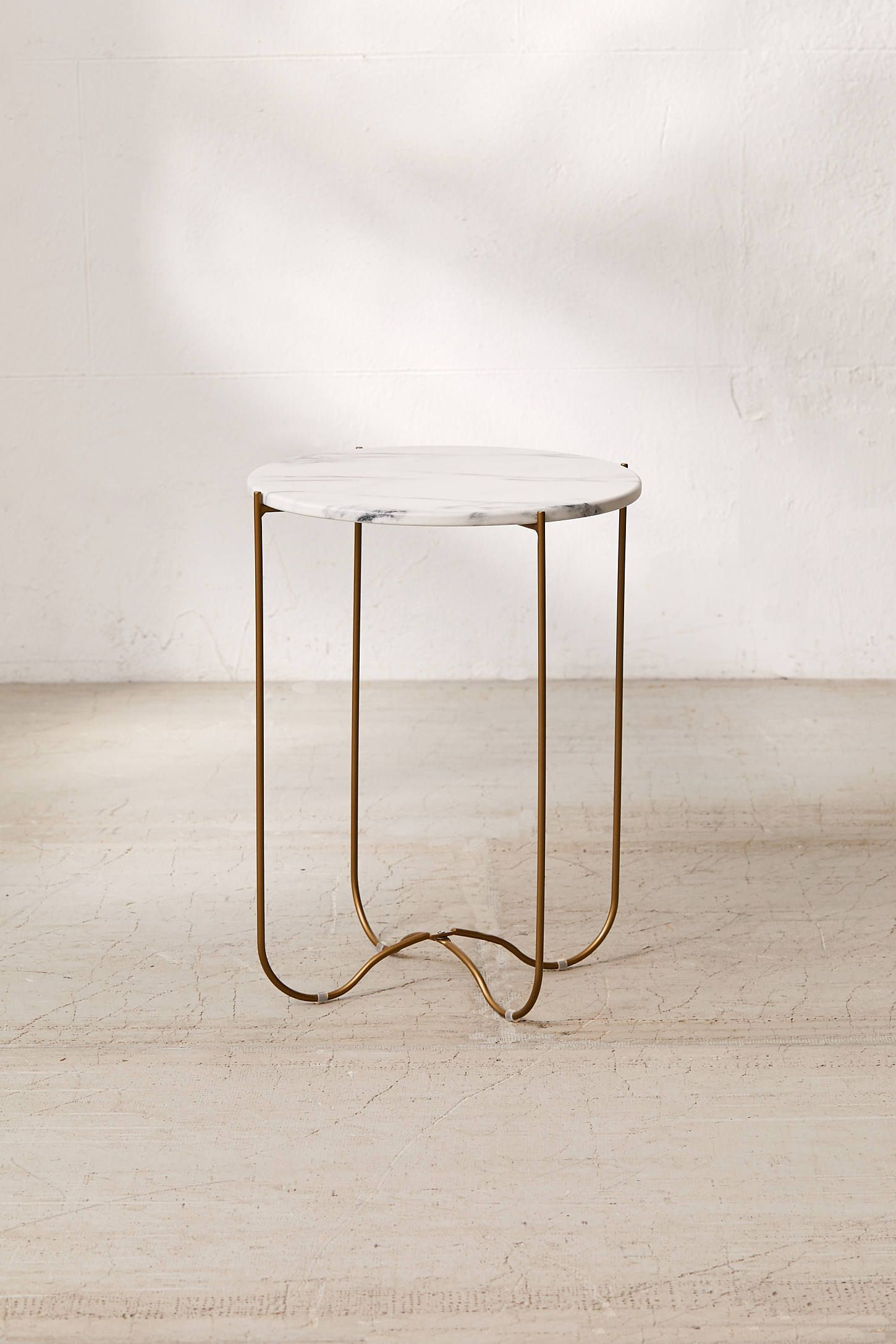 Annette Side Table Side Table Small Living Room Furniture Metal Side Table