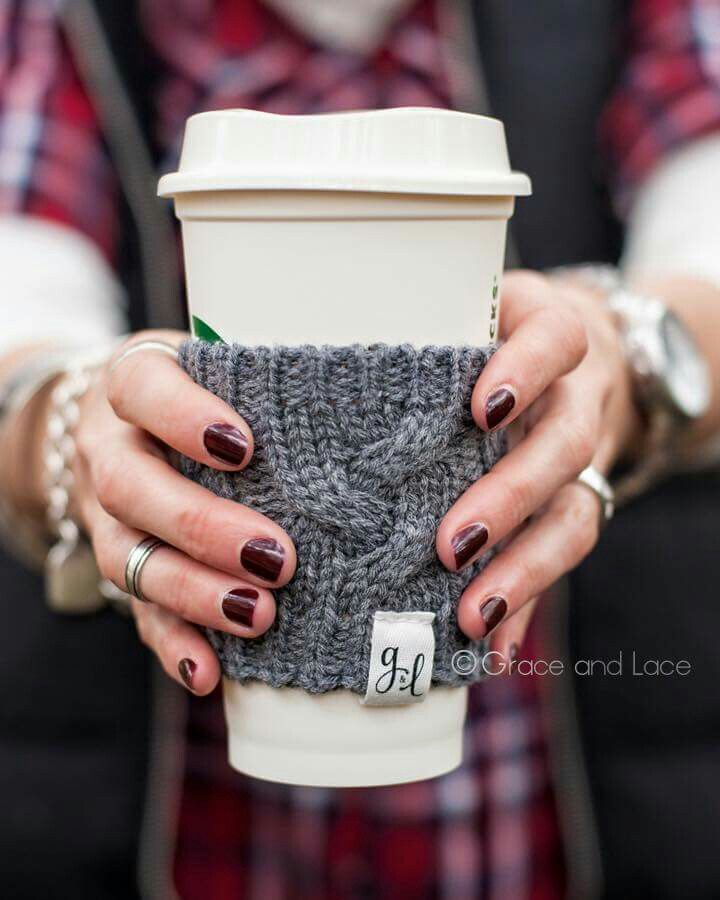 Knit coozie