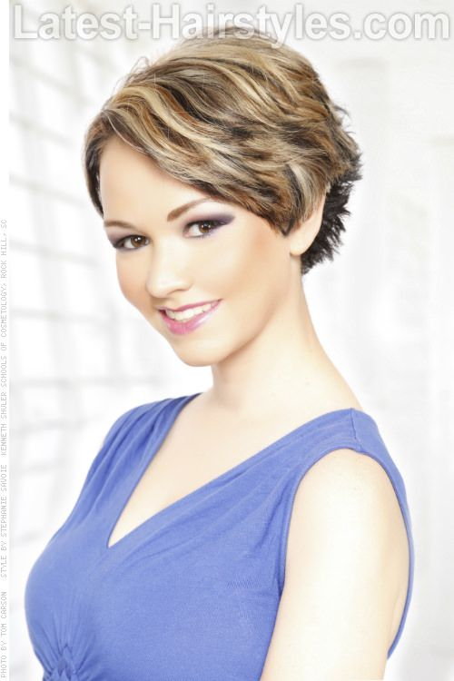 47 popular short choppy hairstyles hair coiffure