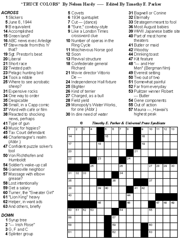 photograph relating to Printable La Times Crossword known as Crossword Puzzles towards Print and Resolve - Sum 24: Print