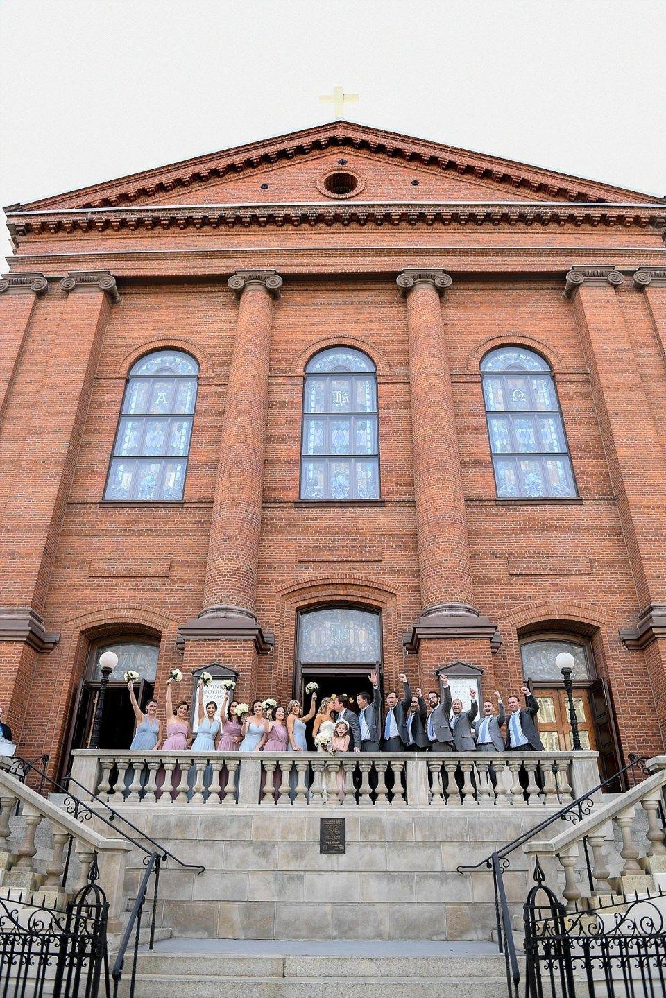 St Aloysius Wedding In Washington Dc Washington Dc