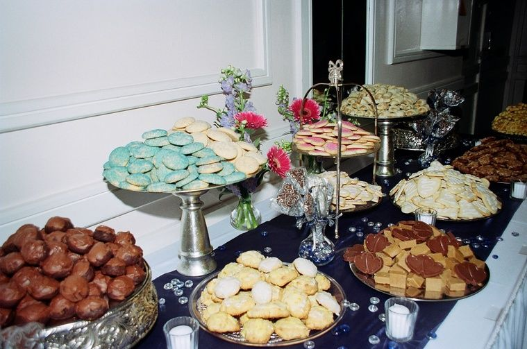 Cookie Table | Wedding ideas | Pinterest | Cake table and Weddings