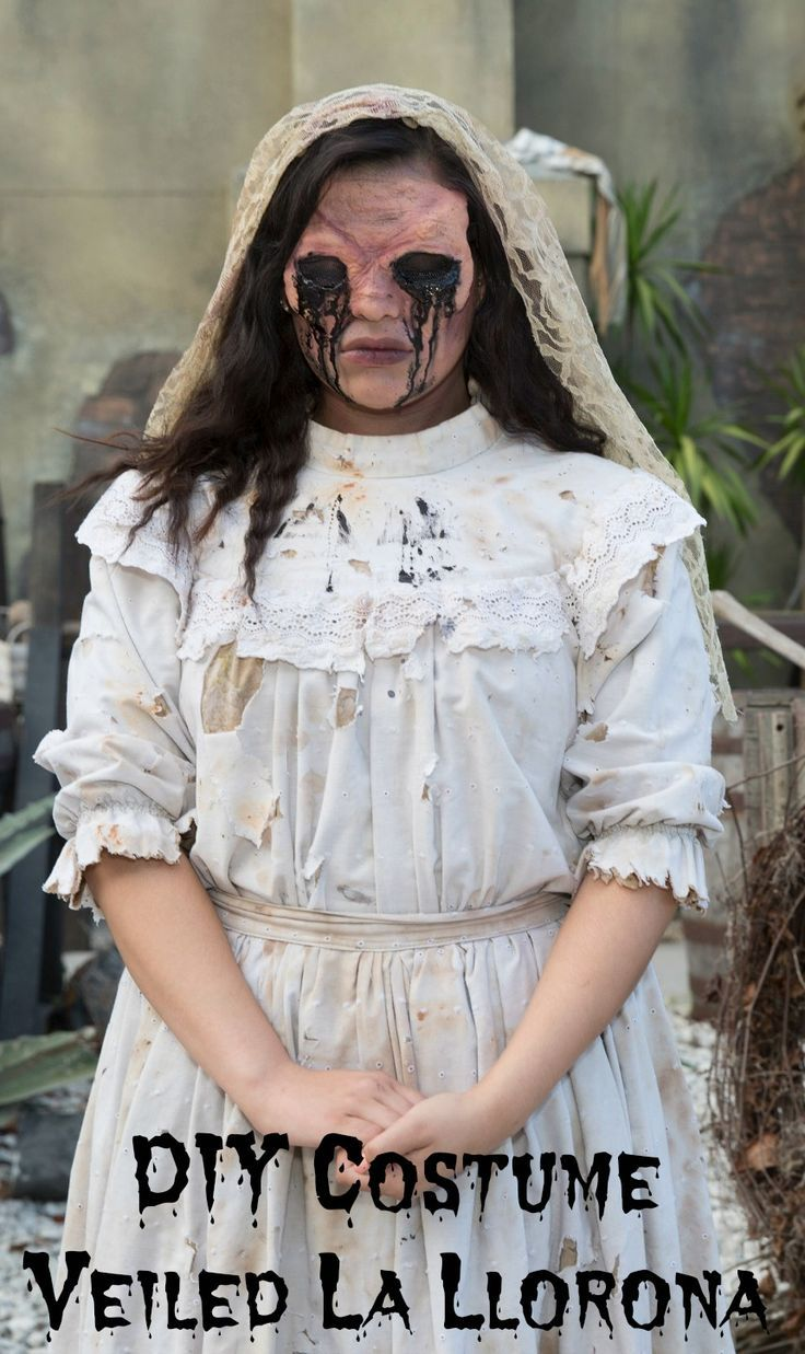 DIY Halloween Costume Idea For Women Be La Llorona the weeping woman ...
