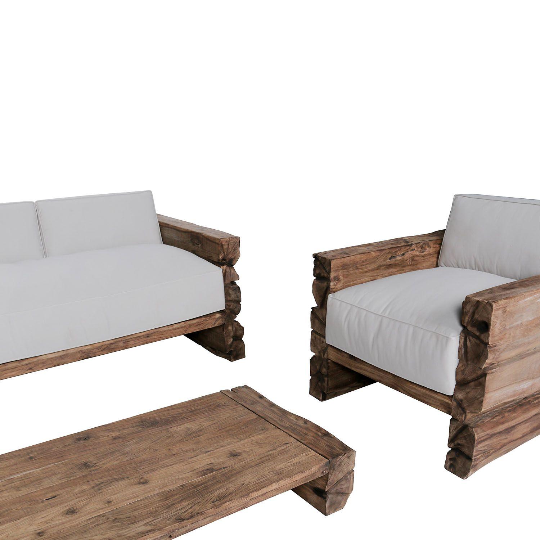Pingl par meuble passion sur meubles originaux en bois Mobilier de jardin en teck massif
