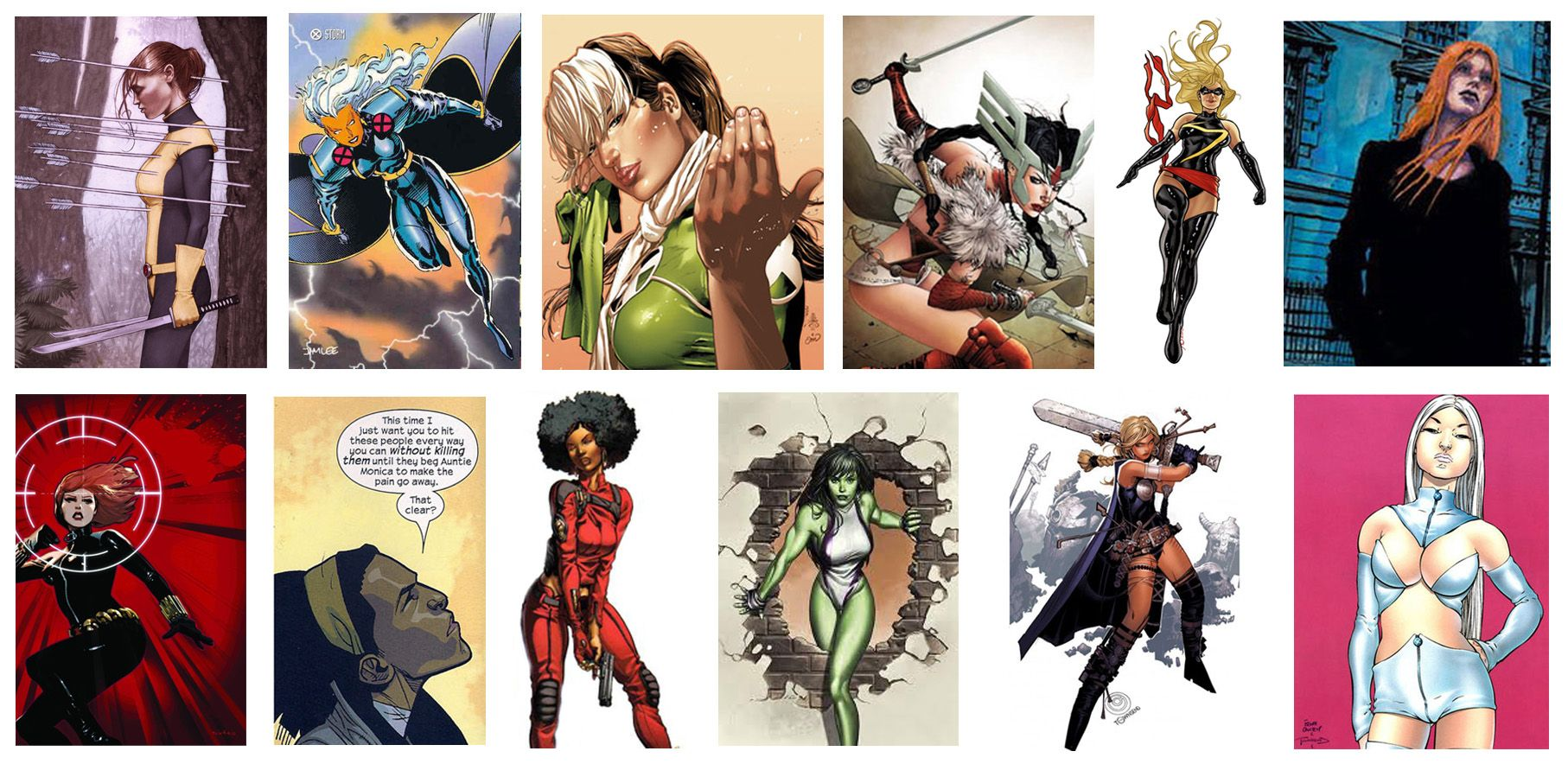 Female Characters Marvel Comics Should Be Good Comic Book Resources Marvel Female Characters Comic Book Characters Female Female Characters