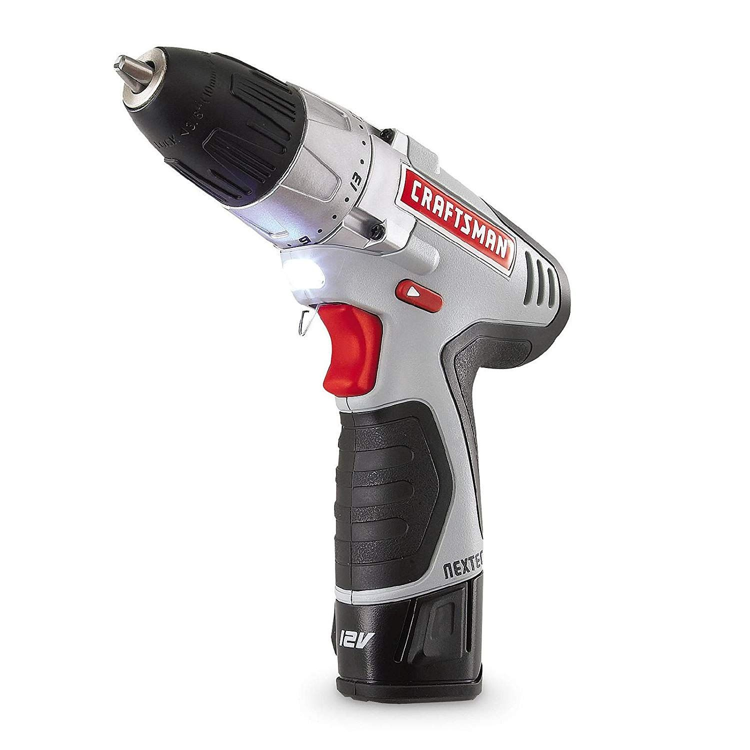 Craftsman N17586 Nextec 12 0v Lithium Ion Drill Driver Kit With Ergonomic Handle And Energy Star Qualified Https Powerdri Drill Driver Drill Ergonomic Handle