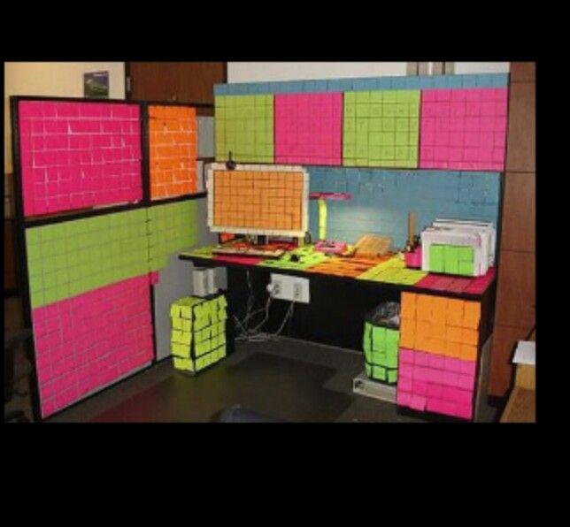 50th Birthday Office Ideas: Funny Office Pranks, Work