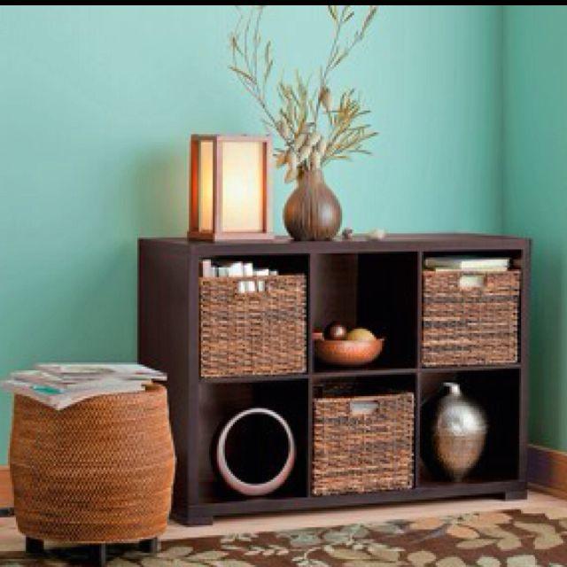 13 6 Cube Organizer Shelf Espresso Threshold Home Decor