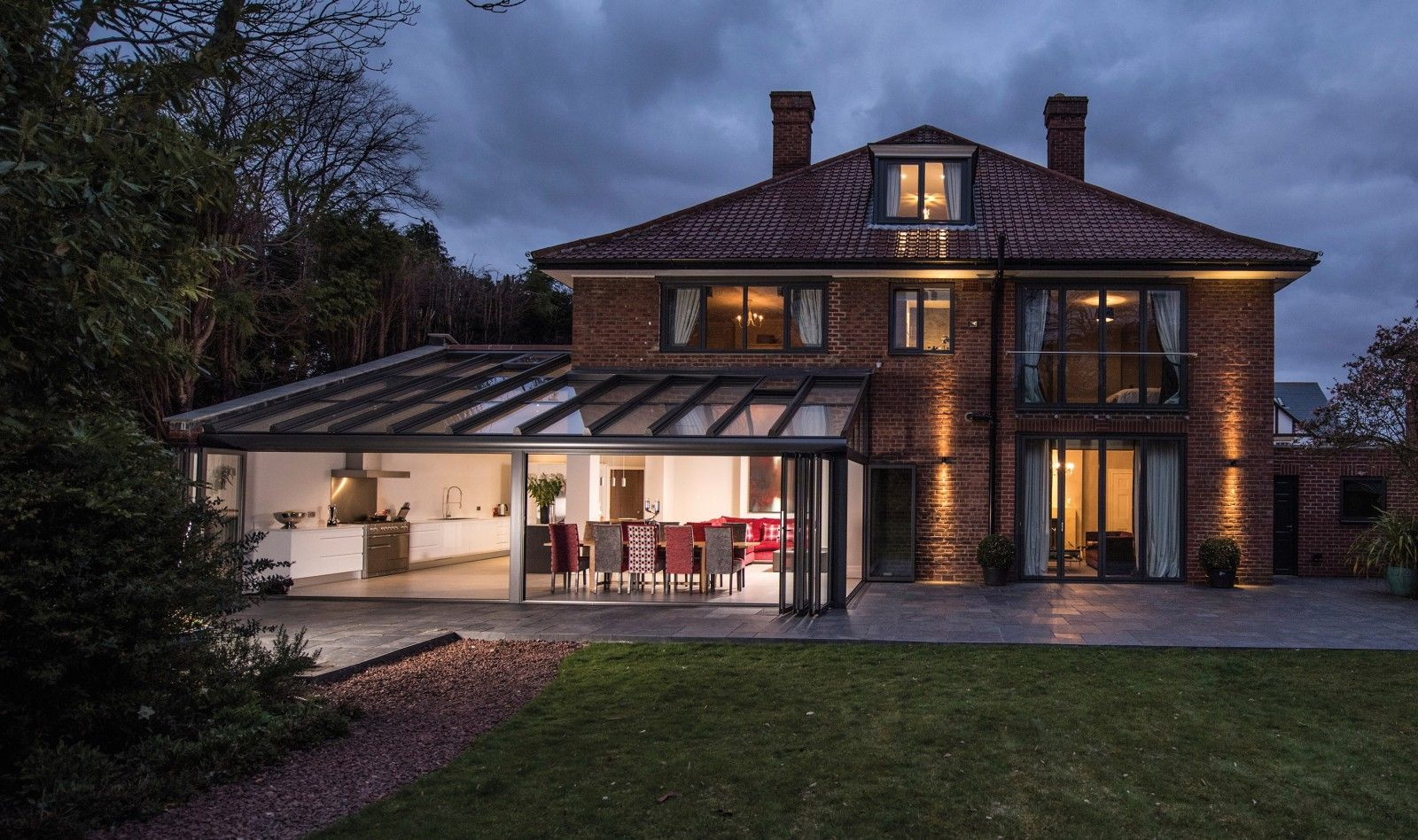 Harmonious with the inside & outdoor living http://caulfieldcompany.co.uk/solarlux/