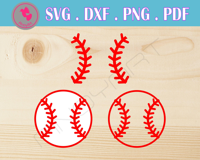 View Baseball Flower Svg Mascot Cutting Files Baseball DXF