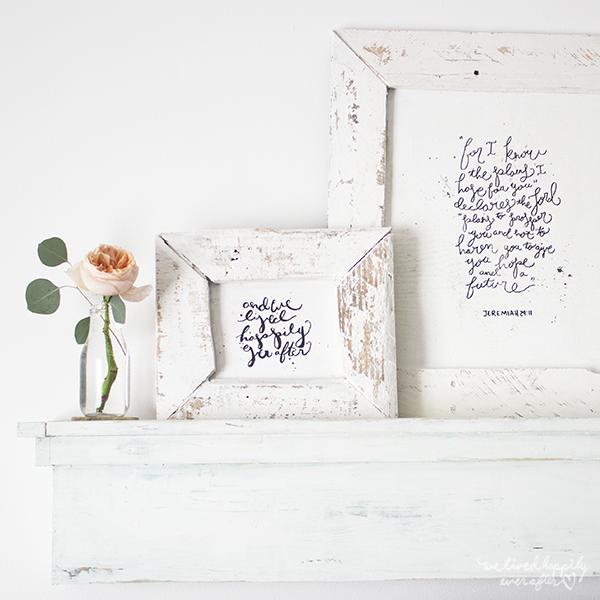 Shabby Chic Pallet Frames DIY | Pinterest | Marco de bricolaje ...