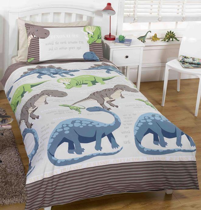 Dinosaur Themed Kids Bedroom Matching