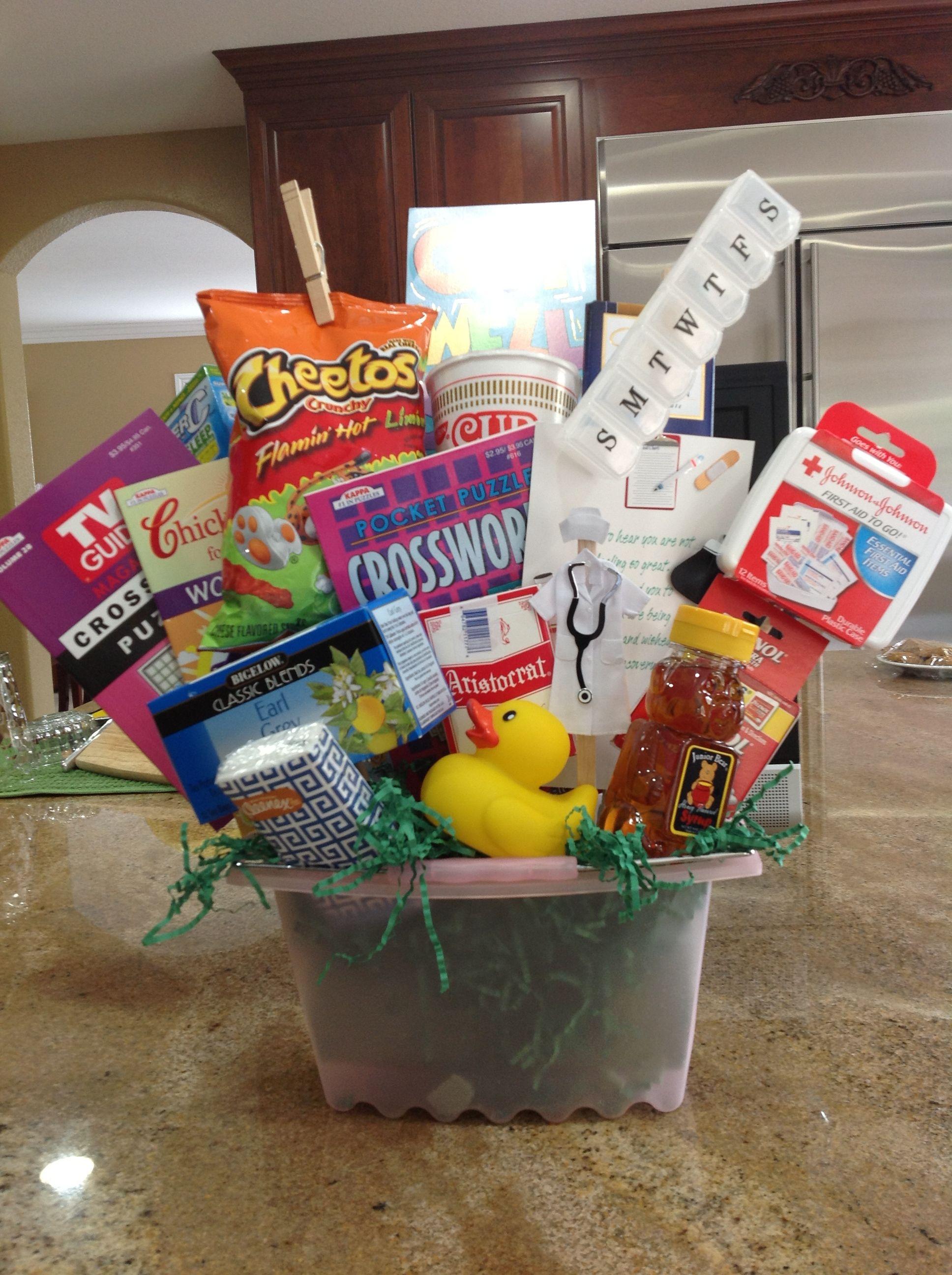 get well basket | crafts | pinterest | gift baskets, homemade gifts