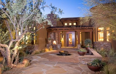 southwestern front patio ideas | Gallery of P atio Ideas For Front ...