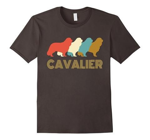 Vintage Cavalier King Charles Spaniel T-shirt | One of the largest and best collection of Mother's day style sayings and graphic tee shirts anywhere on the web. The great gift for your mom or wife. More styles daily updated!