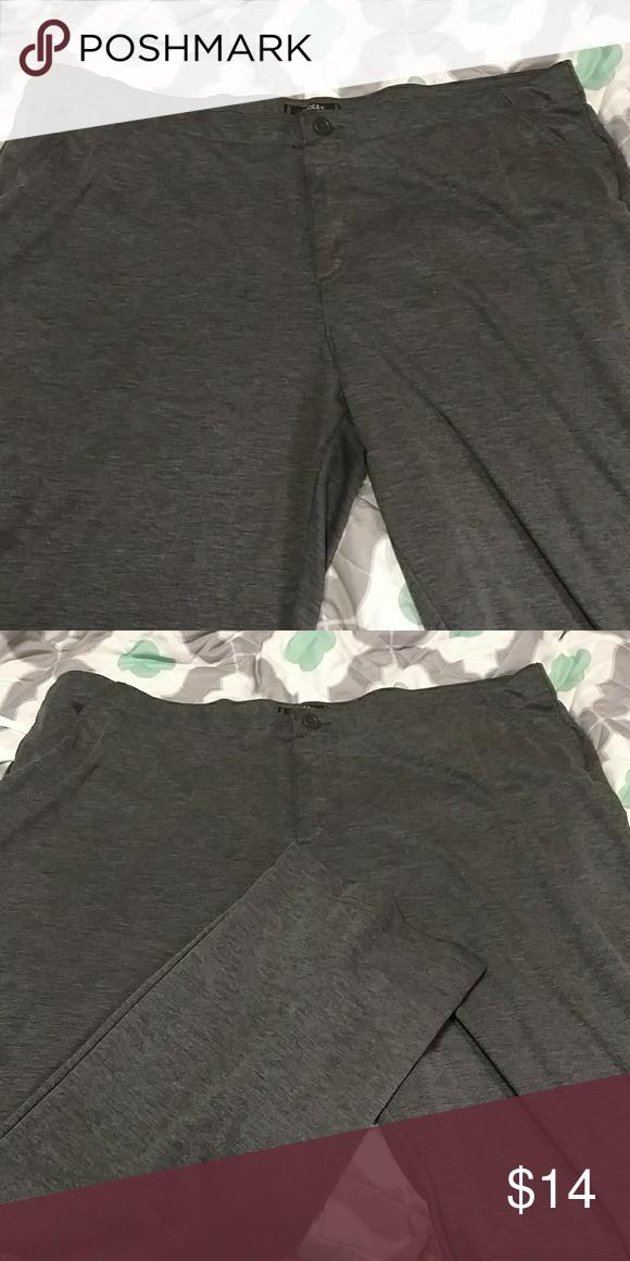 Spandex dress pants plus size
