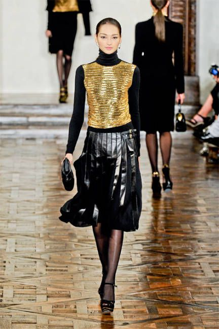 Fall 2012's Major Runway Trends - The Most Influencing Fall Fashion Trends - ELLE
