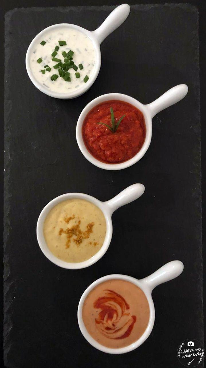 Die 4 besten Saucen für Raclette und Fondue - Schätze aus meiner Küche #quickandeasydinnerrecipes