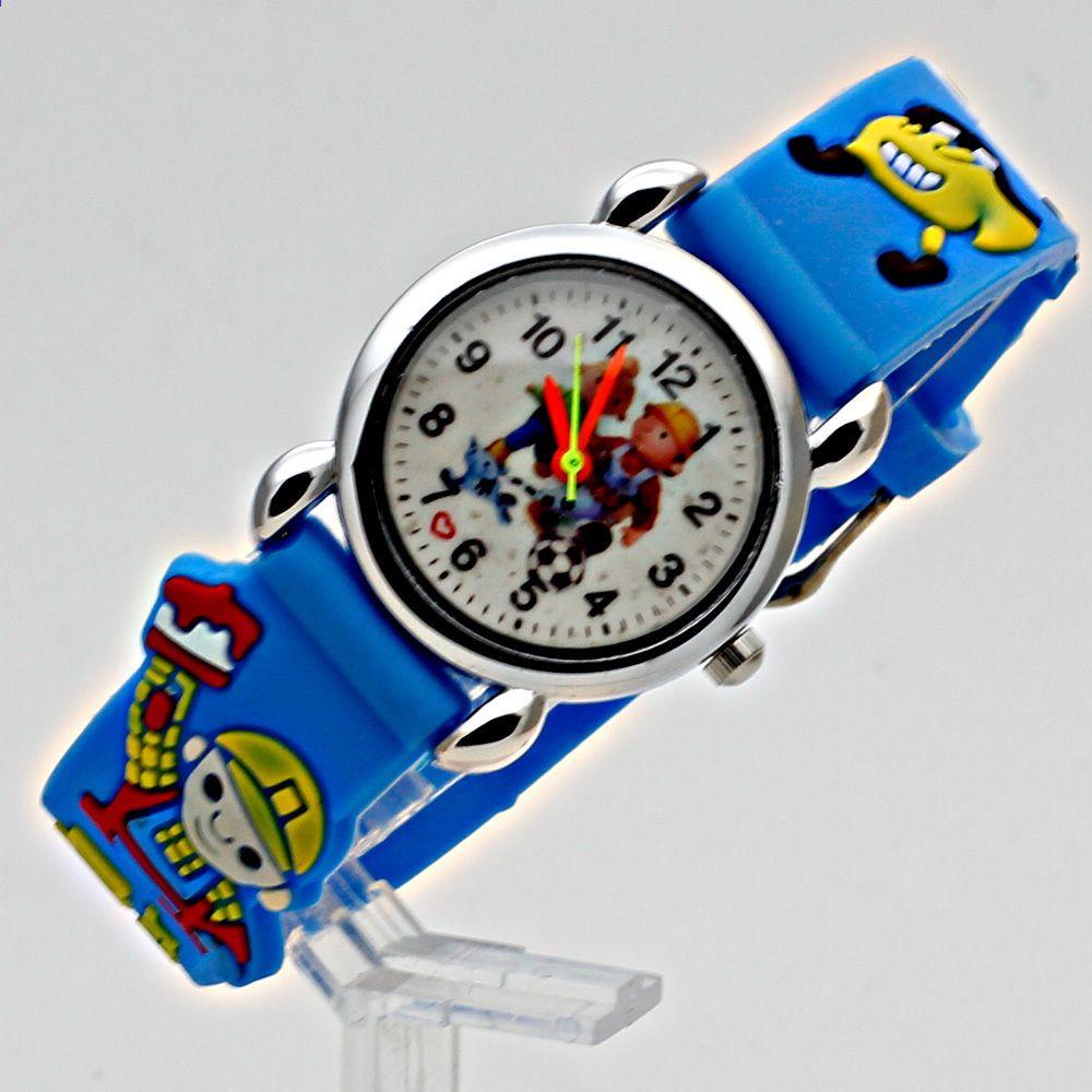 829b3f4e0e1 Moda 3D Criança Assista Silício Dos Desenhos Animados Crianças Relógio Do  Esporte Menino relógio de quartzo Relogios feminino Crianças de Quartzo  Relógio De ...