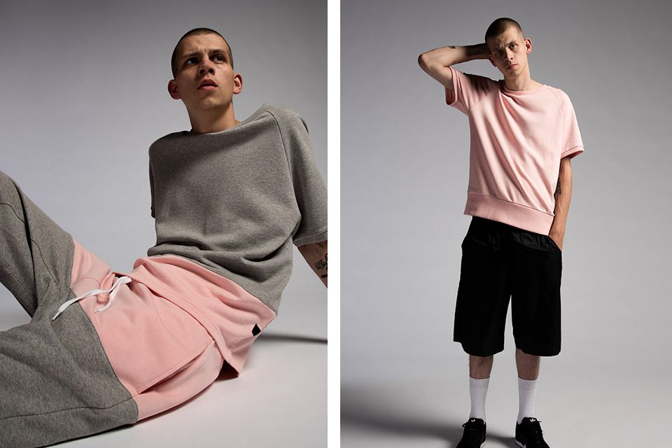 Roux's SS16 Lookbook Illustrates the Powerful Combination of Pink and Grey
