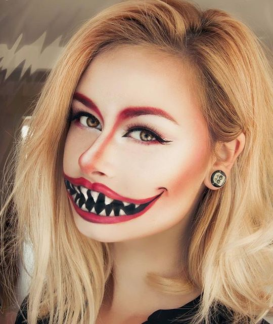 14 Amazing Halloween Makeup Tutorials to Try Halloween, Maquillaje - maquillaje de halloween para nios
