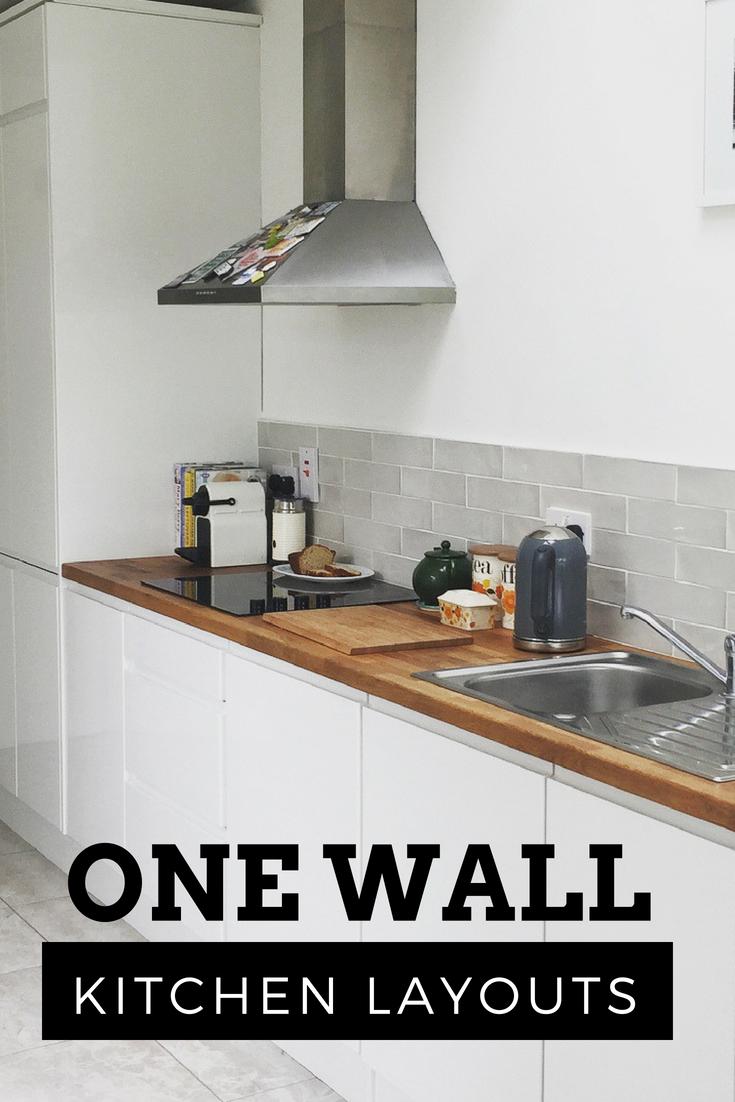 One Wall Kitchen One Wall Kitchen Kitchen Layout Kitchen
