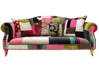 Divano Letto Patchwork : Gorgeous patchwork sofa grace s dream house