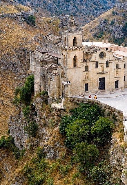 The church of San Pietro Caveoso, Matera, Basilicata, Italy: