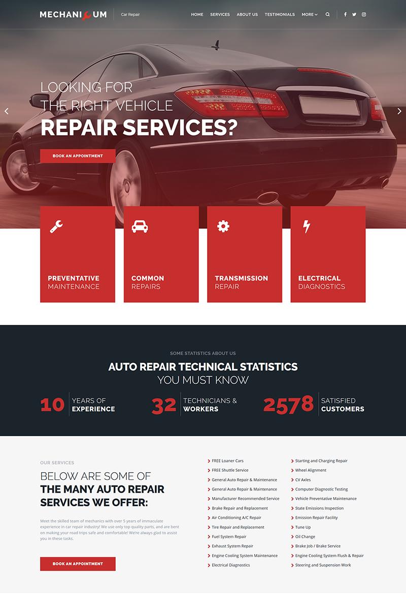 Mechanicum - Car Repair WordPress Theme, #Car #Mechanicum #Repair #Theme #WordPress