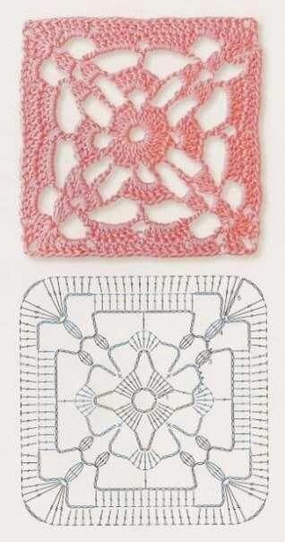 Pin von gaby araya auf patrones | Pinterest | Häkelmuster, Häkeln ...