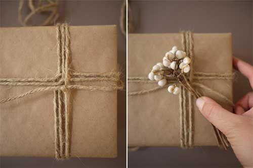 Paso 1 para envolver regalos de forma original - Top Manualidades