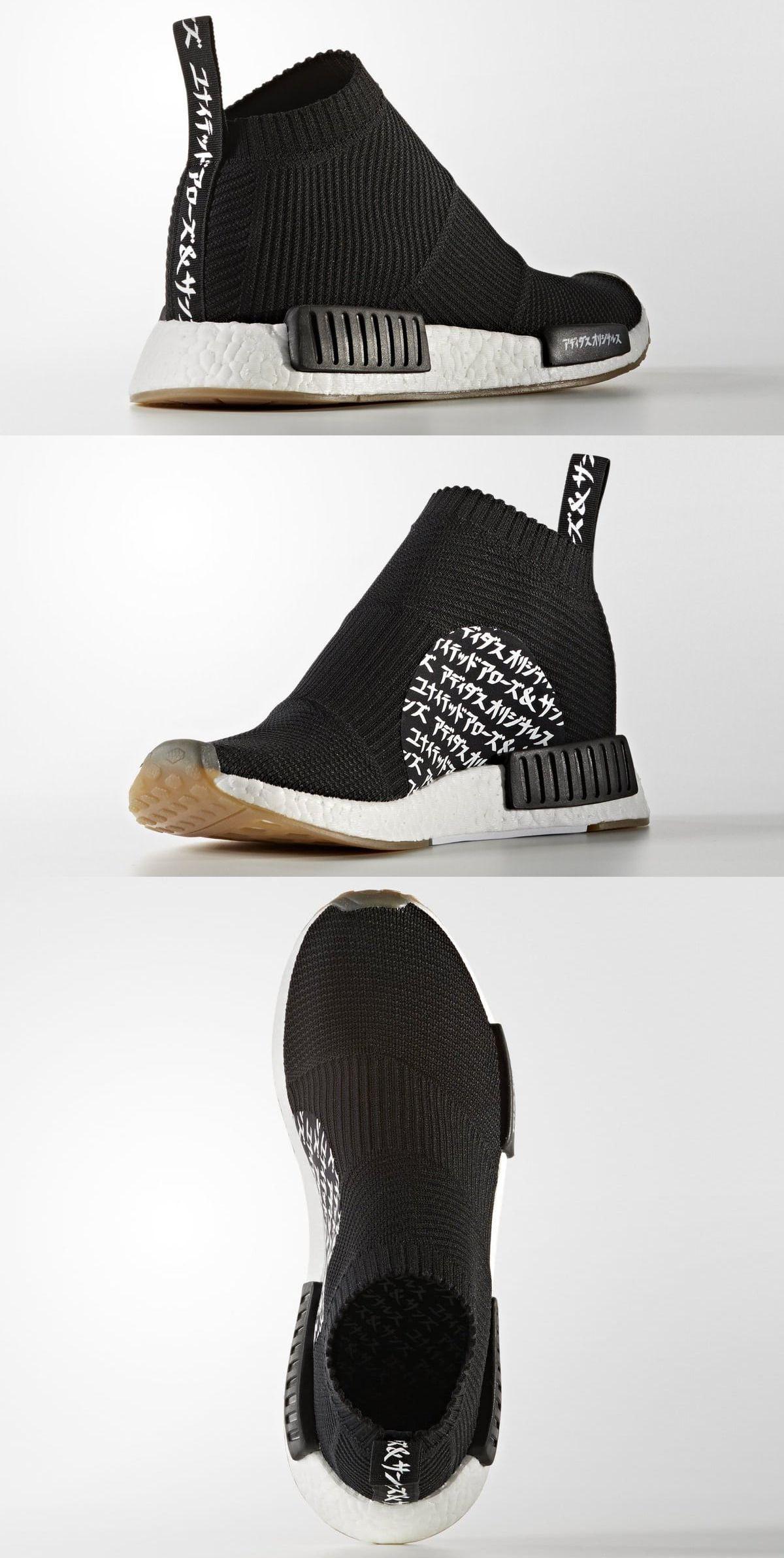 United Arrows & Sons x Adidas NMD ciudad Sock patadas Pinterest